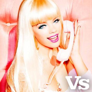 Barbie Party shoot for VS magazine by Ellen Von Unwerth | Camilla Arthur Casting