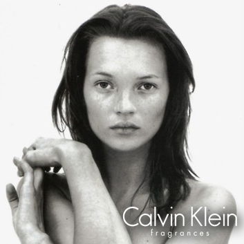 Kate Moss ck be campaign, Richard Avedon - Camilla Arthur Casting