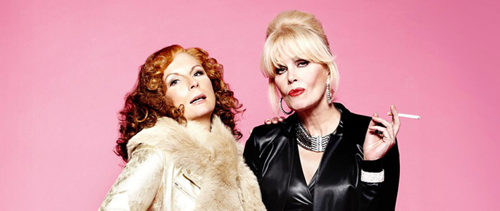 Jennifer Saunders and Joanna Lumley in Absolutely Fabulous: The Movie