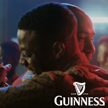 Still from Guinness Africa 'Meet Theirry Henry' promotion, cast by Camilla Arthu
